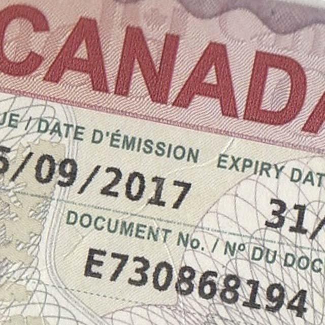 Visado para Canadá
