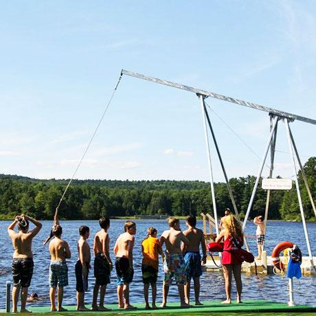 Imágenes reales de Actividades en los American Camps de Hola USA