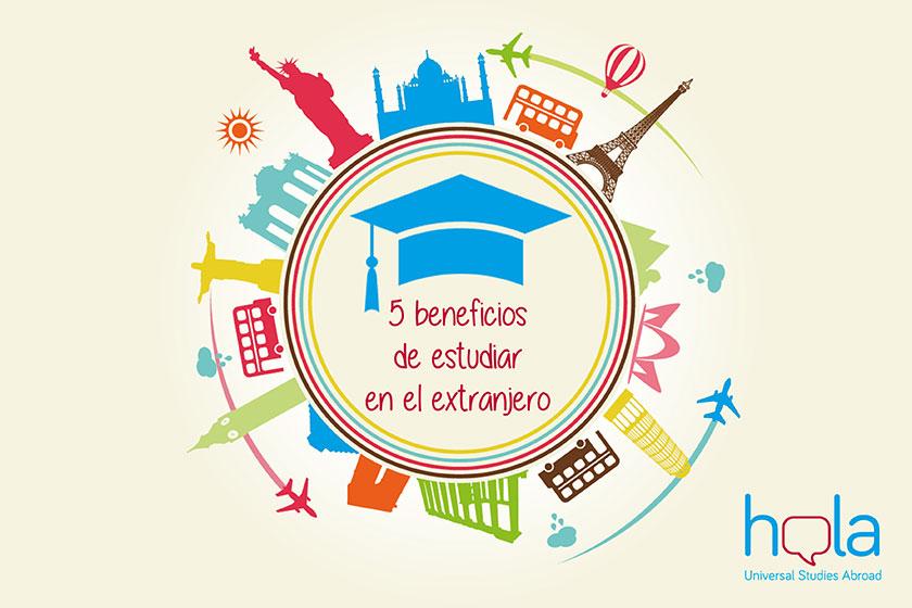 Beneficios de estudiar en el extranjero