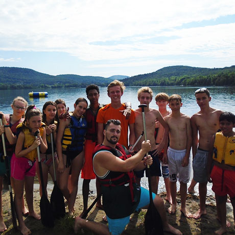 Campamento de verano en Canadá
