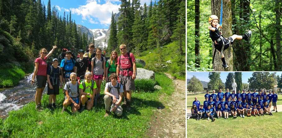 Campamento de verano en EEUU