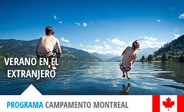 Campamento de verano en Canadá para jóvenes
