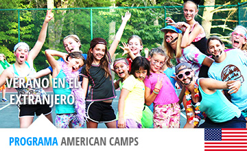 Campamentos USA americanos para jóvenes y niños