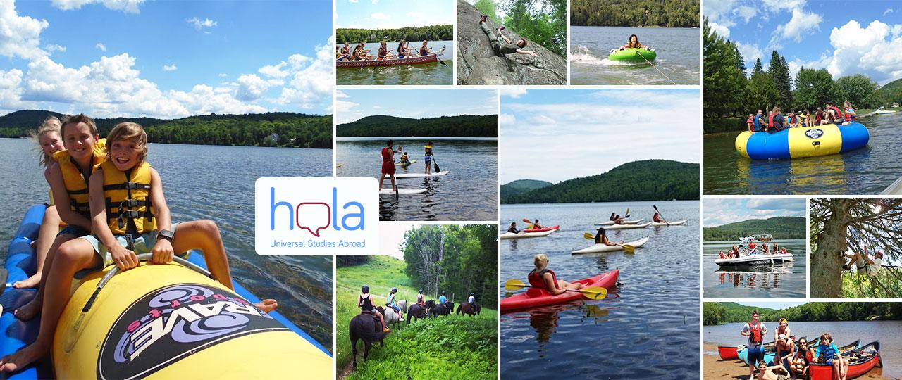 Deportes y actividades en campamentos de verano en Canadá