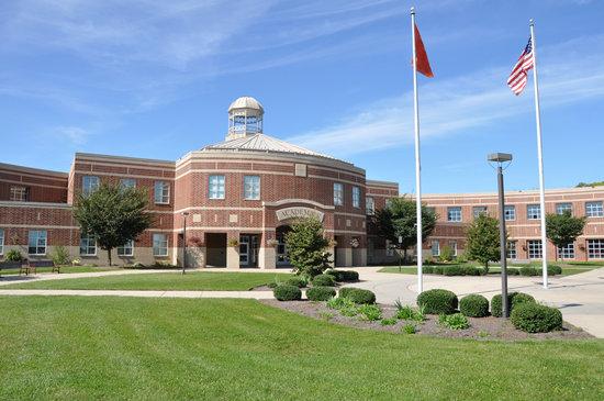 exterior High School americano
