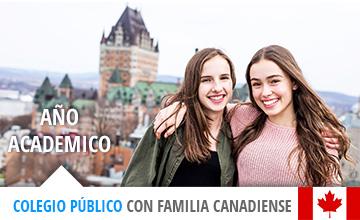 Año académico en Canadá: Colegio público y familia anfitriona