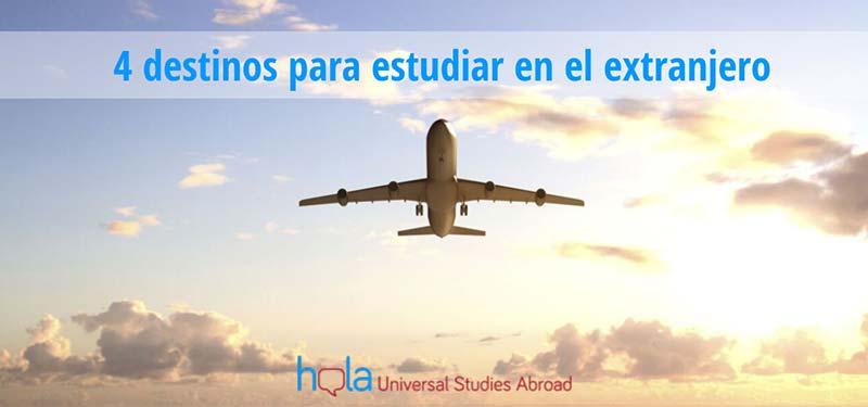 Mejores destinos para estudiar en el extranjero