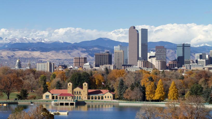Paisaje de la ciudad de Colorado