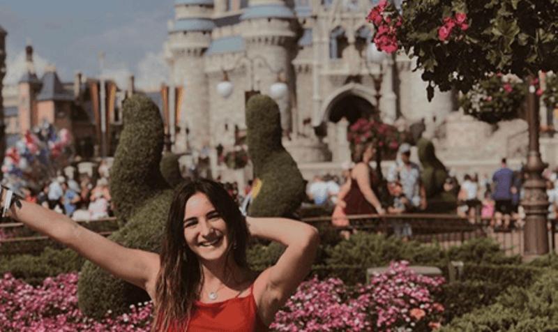 Ana Pineda, estudiante de Hola Usa en Estados Unidos durante el Año Académico 2018/19