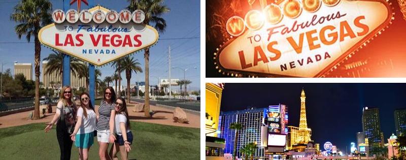 Imágenes de alumnos en Las Vegas