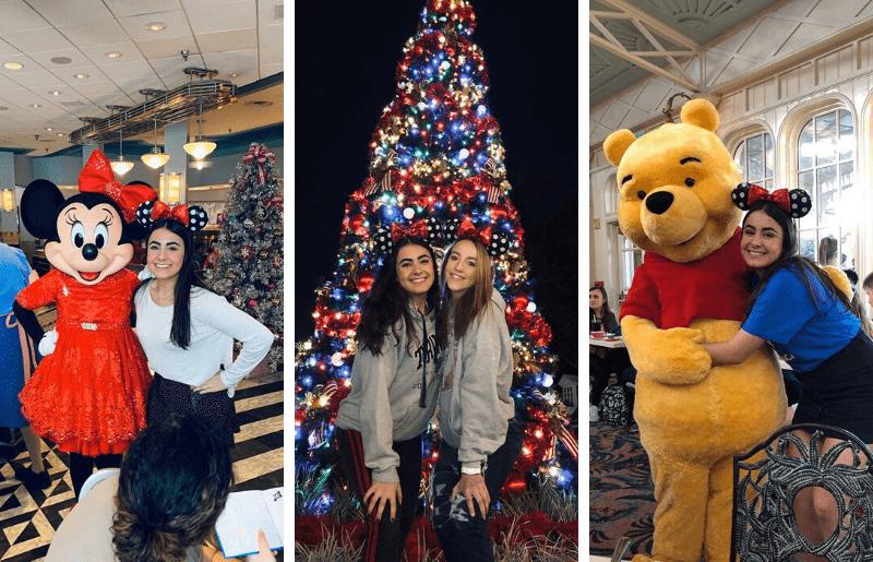 fotos de alumnos de Año Académico en EEUU en Disney World