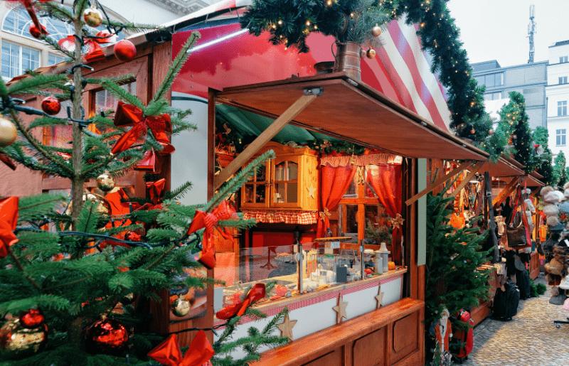 mercadillo navideño de Estados Unidos