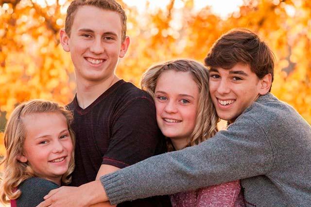 Familia de acogida canadiense para estudiantes españoles en el extranjero