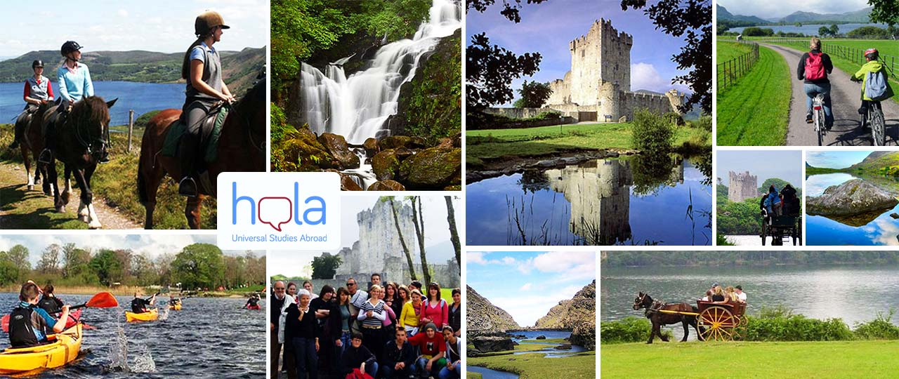 Programas de verano en Irlanda para aprender inglés y hacer actividades y excursiones