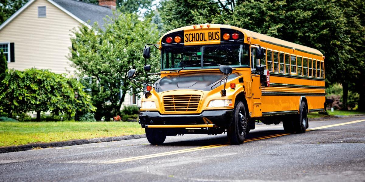 imagen de un School Bus americano