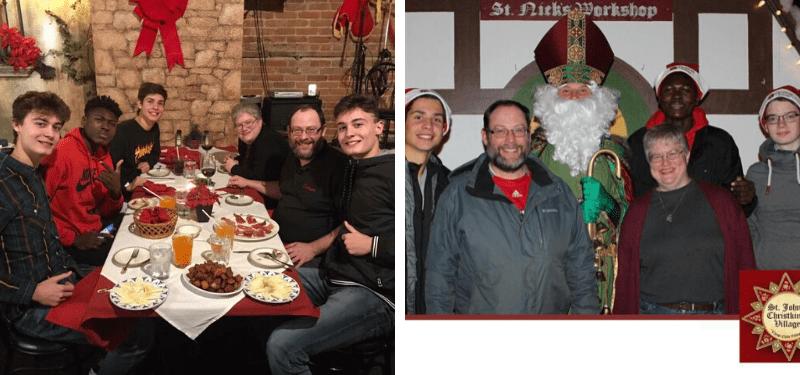 experiencia de nuestros alumnos en Estados Unidos por Navidad