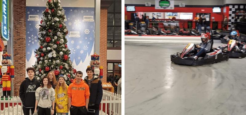 experiencias de alumnos de Año Académico en EEUU durante Navidad 2019