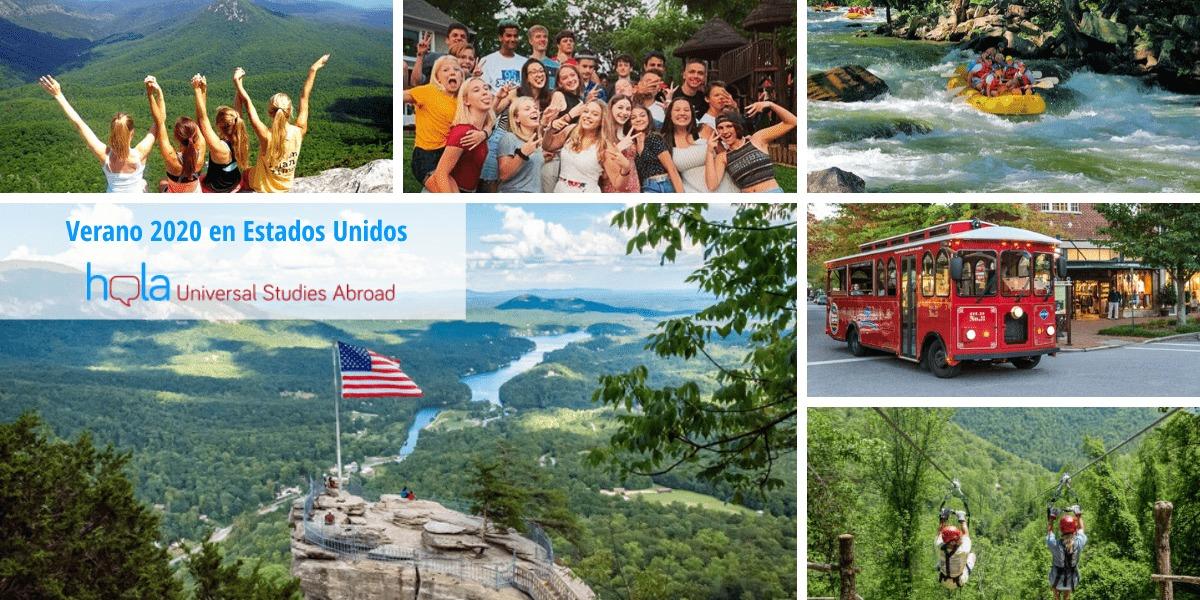 experiencias de alumnos durante el programa de verano en Estados Unidos