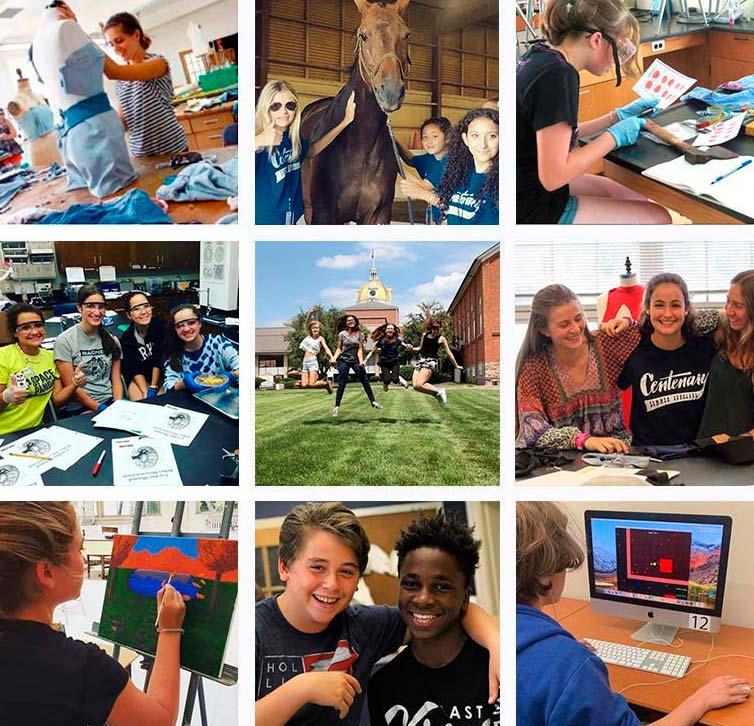 Actividades del programa preuniversitario en EEUU