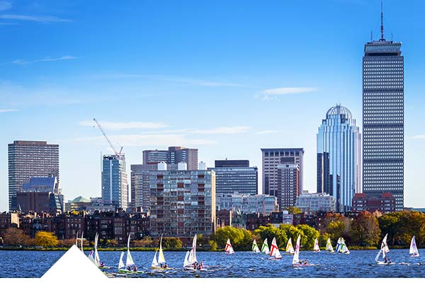 Campamento de verano en Boston
