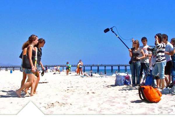 Campamento e verano de cine en EEUU