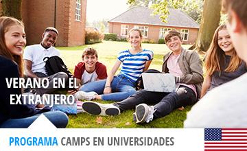 Campamentos de verano temáticos en universidades de EEUU