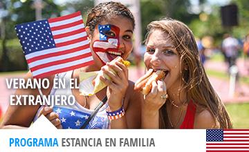 Verano en familia anfitriona en EEUU