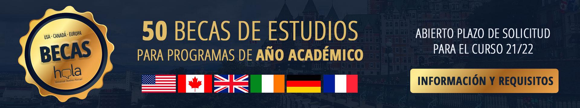 Becas para estudiar en el extranjero de 1200€