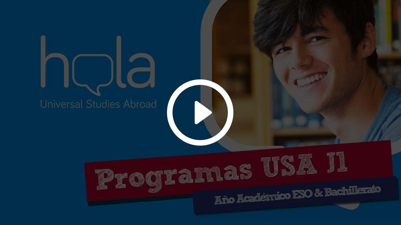 Programas J1 para estudiar ESO en USA y Bachillerato en USA