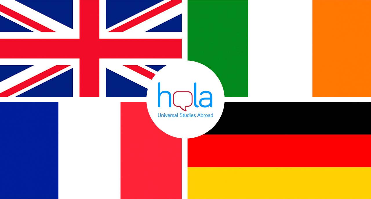 Estudiar en Europa ESO y Bachillerato: Irlanda, Reino Unido, Francia y Alemania